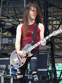 Marty Friedman - Lead/Rhythm Guitarist for Megadeth from 1990-2000