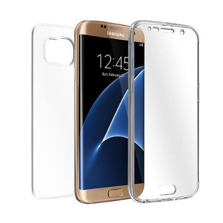 Double Sided Transparent Case - Galaxy S7 Edge