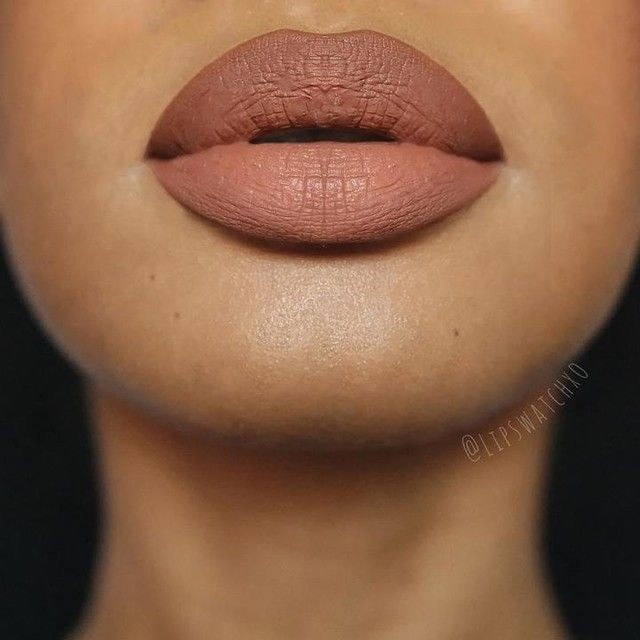 NYX Matte Lip Cream in Dubai, Abu Dhabi, and London outlined with Brown slim pencil