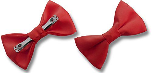 Men's Satin CLIP ON Bow Ties - Various Colours (Red) Great British Tie Club http://www.amazon.co.uk/dp/B01ABW61WW/ref=cm_sw_r_pi_dp_Bmk0wb0CVZJHY