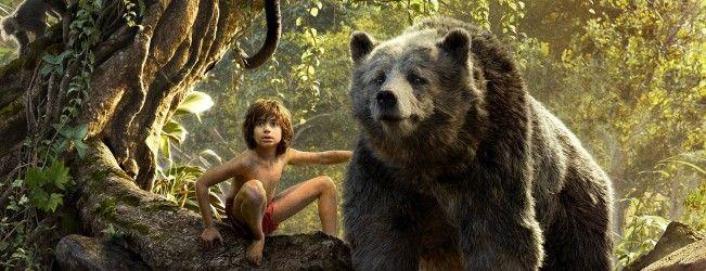 Bagheera, Baloo et Mowgli s'affichent pour #LeLivreDeLaJungle. Plus découvrez l'affiche complète du film