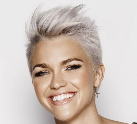 Really Short Hairstyles 371 Best Hair Images On Pinterest  Pixie Haircuts Short Cuts And