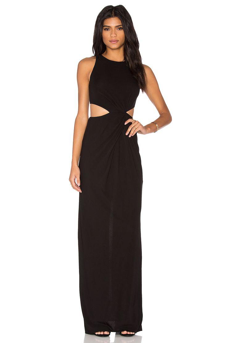RACHEL ZOE Gesche Dress in Black