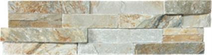 Ledgerstone in Beachwalk stone  mosaic backsplash by Elements from International Wholesale Tile | On display at Carpet One Floor & Home in Ocala & The Villages, Fl