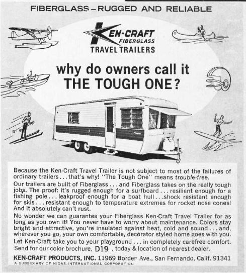 Kencraft Travel Trailer History
