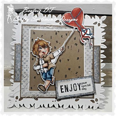 """Beascrapbooking: RETO """"CRAFTY SENTIMENTS DESIGNS"""": SHAPPED CARDS"""