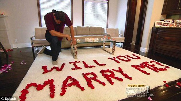 La propuesta de matrimonio a Kim Kardashian no fue tan espontánea y romántica como se pensaba