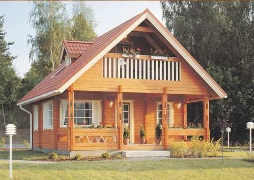 Rumah Kayu = rumah impian.