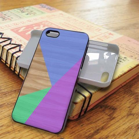 Geometric Wood iPhone 5C Case