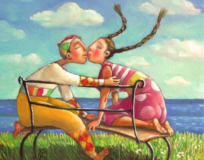 El amor compañero es el amor al cuadrado, es amarse sin excusas ni vaivenes, es aceptarse, es ayudarse a crecer, caminar de la mano por la vida y sentirse pleno...