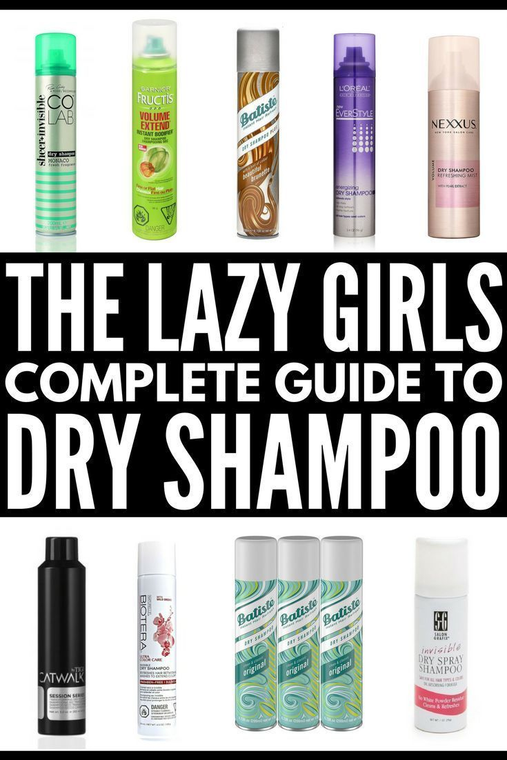 Invisible Dry Shampoo The 10 Best Drugstore Dry Shampoos For Your