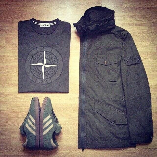 Outfit grid - Stone Island kit