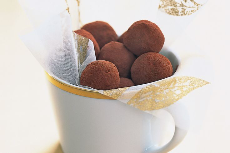 Whip up a batch of these decadent chocolate truffles. They make beautiful gifts with enough spare to pop in your own mouth.