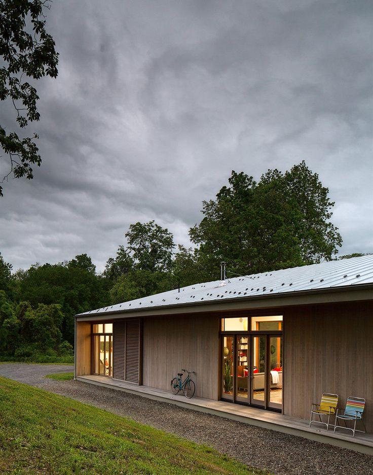 Modern engawa -- house by  architect Adam Rolston
