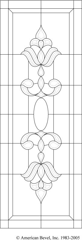 American Bevel - Stained glass, bevel glass clusters, stained glass software…