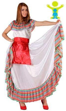 Disfraz de Mejicana Julieta mujer