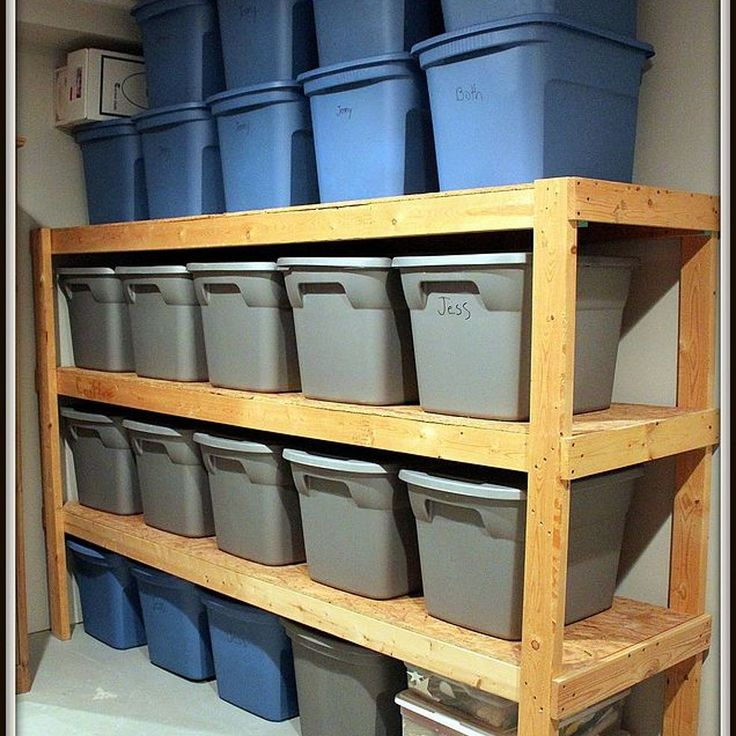 2x4 Storage Shelves - WoodWorking Projects & Plans
