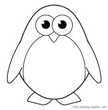 Resultado De Imagen De Penguin Draw Boyama Sayfalari Penguen Ve