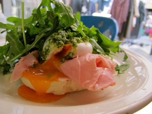 Green eggs + hamGreen Eggs