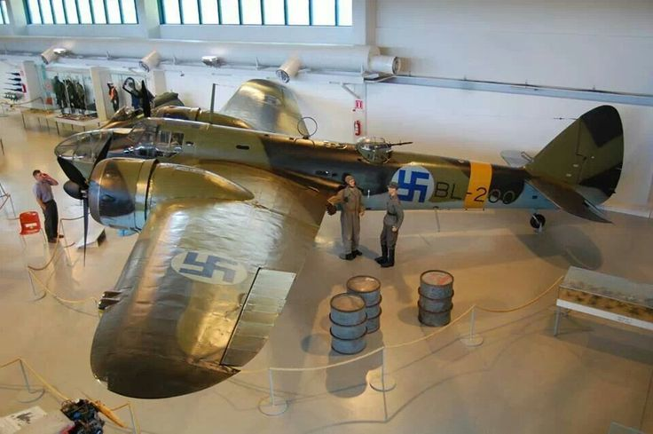 Bristol Blenheim IV - with Finnish markings