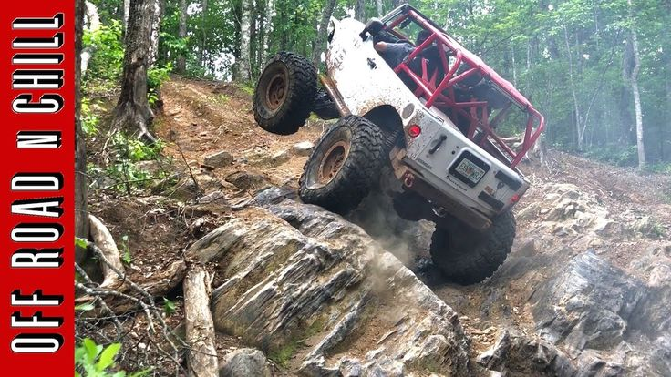 Jeep Wrangler Off Road / Rock Crawling at Morris Mountain Off-Road Park