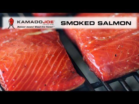 Kamado Joe Smoked Salmon - YouTube