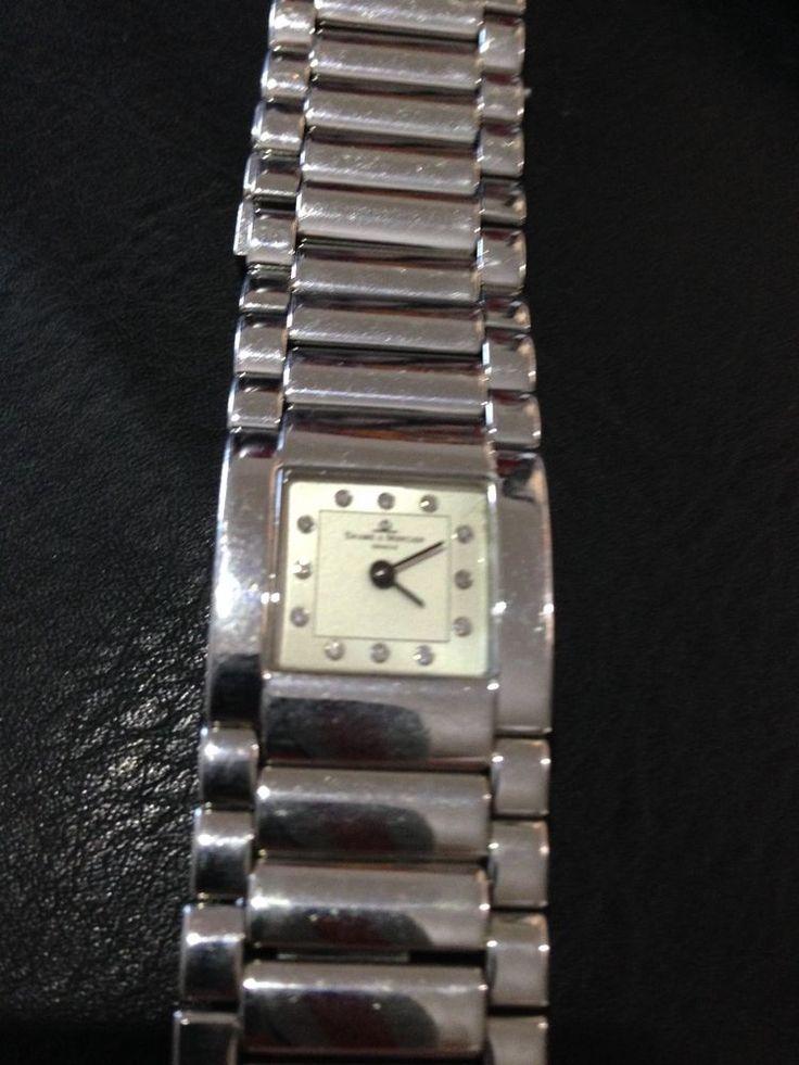 Baume & Mercier Catwalk 12 diamanti acciaio