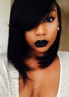 25 Black Girls with Bobs   Bob Hairstyles 2015 - Short Hairstyles for Women