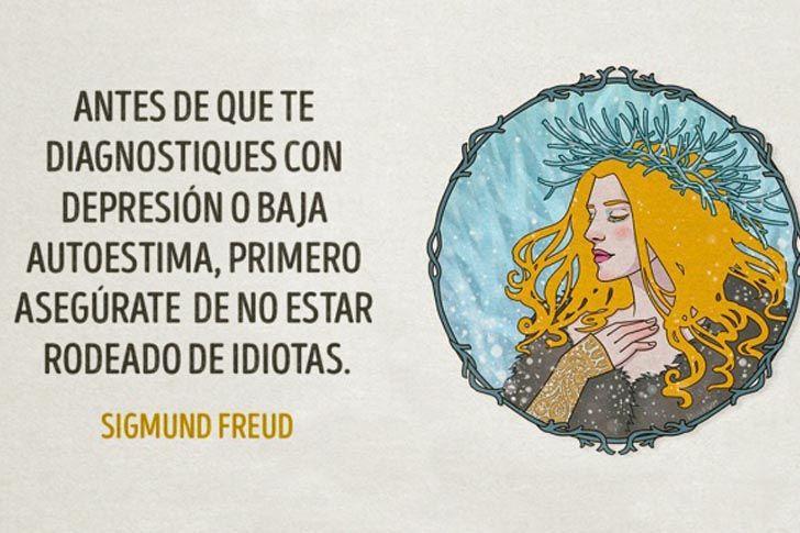17 Frases de Sigmund Freud que dicen mucho acerca de nosotros mismos