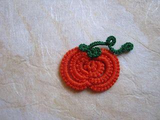 Tatted Pumpkin