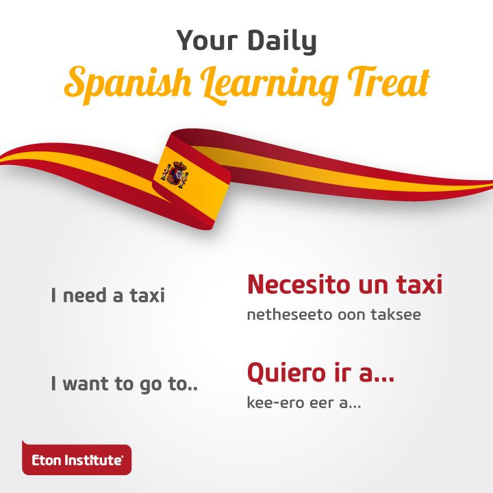 Have fun travelling around with a few Spanish skills in your pocket.