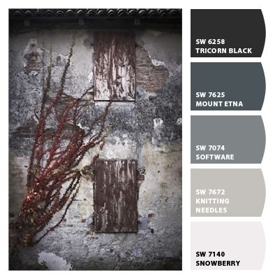 Interior bathroom paint colors from chip it by sherwin williams knitting needle masterbath for Knitting needles paint exterior