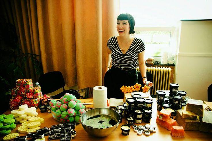 Lushie Tanja bij de VegeQ 2014 (Fotograaf: Lotte van den Broek).