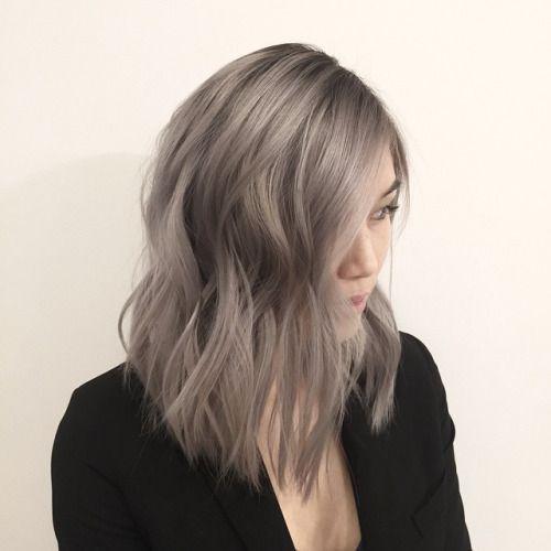 ทรงผม LOB Hair สีสันสดใส - Wongnai