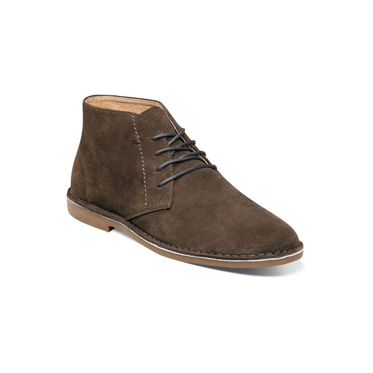 Nunn Bush Galloway Men's Suede Chukka Boots, Size: medium (10.5), Brown Oth
