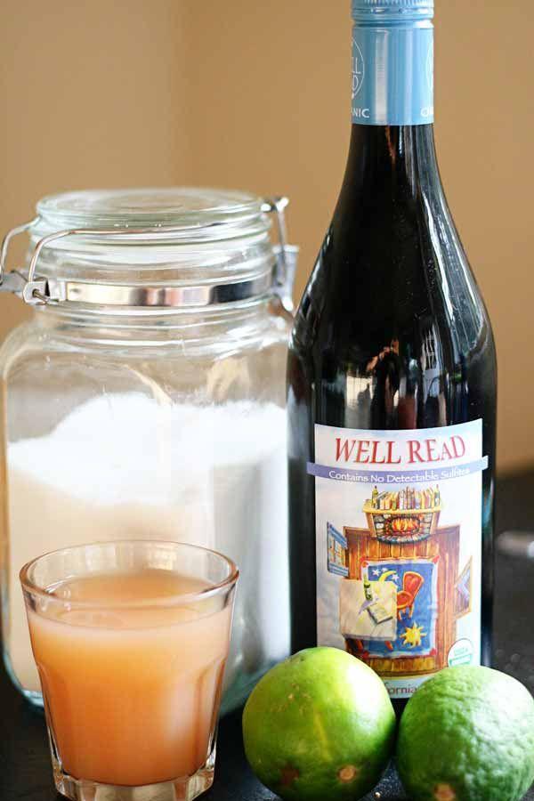 Ruby Sangria Recipe — Dishmaps