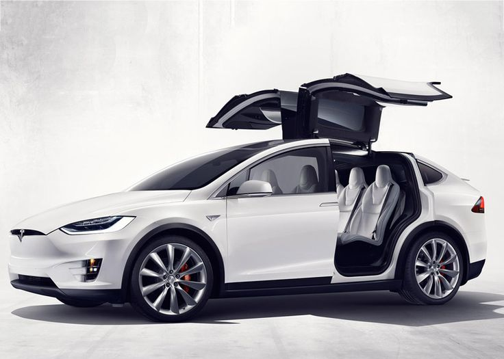 """Tesla's electric Model X is the """"safest SUV ever"""" says Elon Musk."""