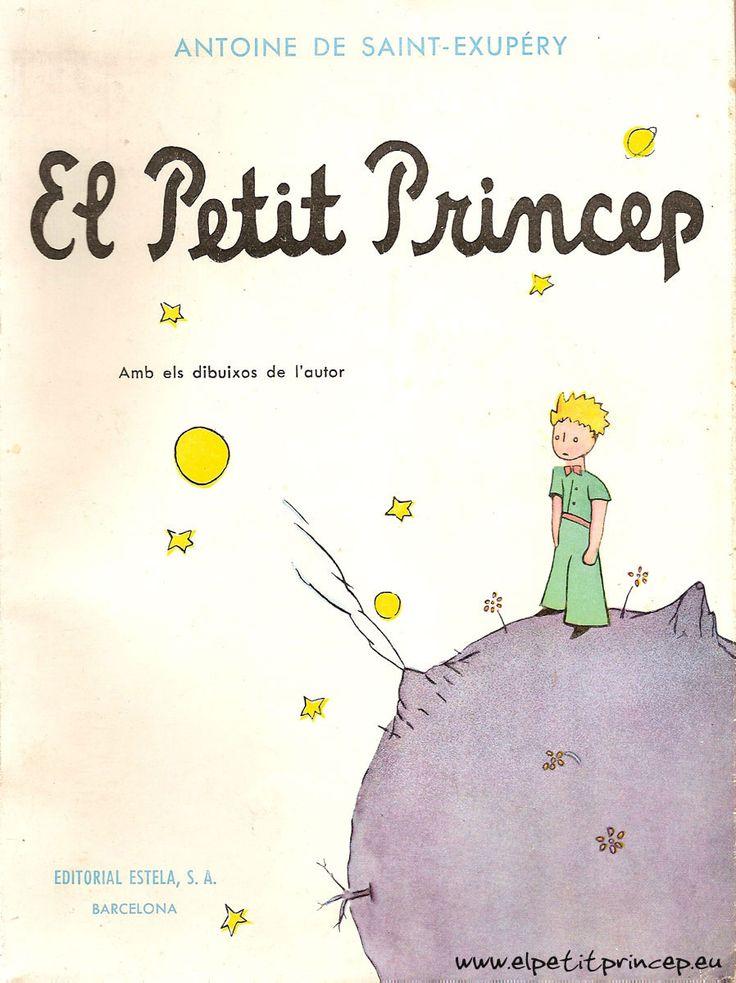 """""""El petit príncep"""" d'Antoine de Sant-Exupéry. Gran novel·la tan per infants com per adults. El missatge que vol transmetre l'autor és: allò essencial és invissible pels ulls. A partir de 10 anys."""