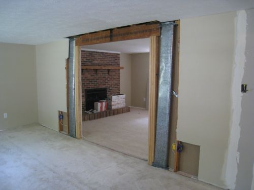 16 best load bearing wall ideas images on pinterest load for Removing part of a load bearing wall