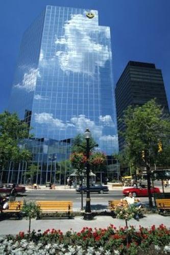 Hamilton, Ontario.. downtown.  CIBC Building at King and James!