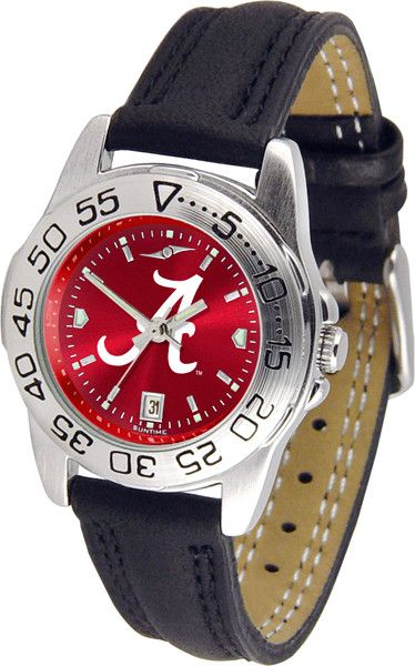 Alabama Crimson Tide Womens Anochrome Sports Watch