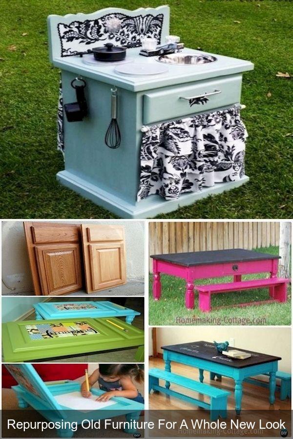 Recycled Furniture Ideas Repurposed Desk Diy Repurpose
