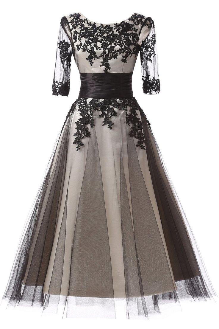Amazon.com: Favors Dress Women's Half Sleeves Lace Cocktail Tea Length Formal Dresses WP27: Clothing  https://www.amazon.com/gp/product/B01N0C81N0/ref=as_li_qf_sp_asin_il_tl?ie=UTF8&tag=rockaclothsto-20&camp=1789&creative=9325&linkCode=as2&creativeASIN=B01N0C81N0&linkId=f5117b32282f5a5c81dd518cd5c3a714