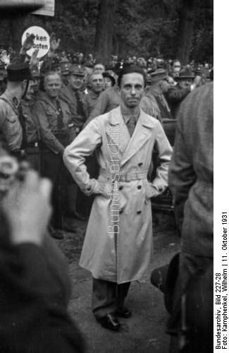 a biography of joseph goebbels a german politician Amazoncouk: joseph goebbels - biography: books paul joseph goebbels was a german politician and reich minister of propaganda in nazi germany from 1933 to 1945.