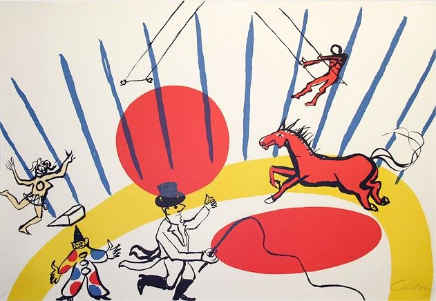 peintures sur le thème du cirque