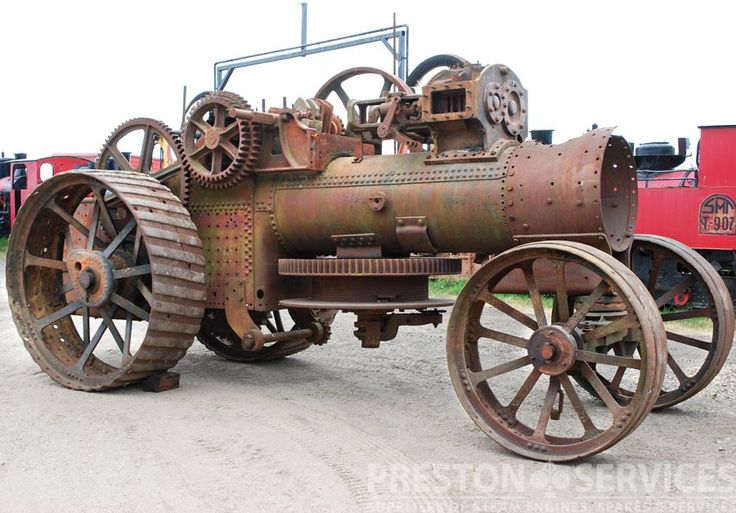 AVELING & PORTER Class PC8 Ploughing Engine - PRESTON SERVICES