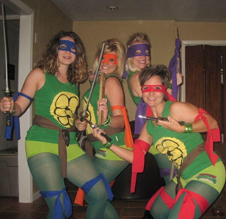 TMNT Teenage Mutant Ninja Turtles Womens Costumes | Ninja ...