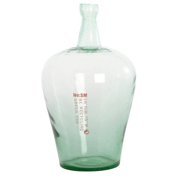 http://mooseartdesign.pl/pl/szklo/wazon-no-sm-house-doctor-detail Wymiary: 29/47cm Materiał: szkło recyk.