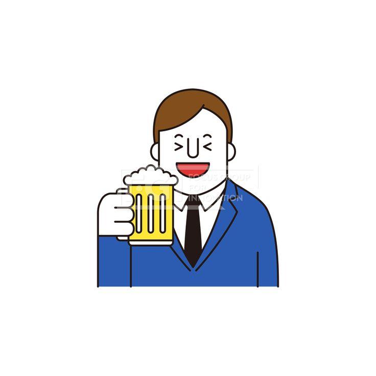 ILL161, 프리진, 일러스트, 생활, 사람, ILL161, 캐릭터아이콘, 캐릭터, 인물, 손짓, 상반신, 손가락, 핸드모션, 동작, 남자, 남성, 청년, 취미, 일상, 맥주, 치맥, 음료,#유토이미지