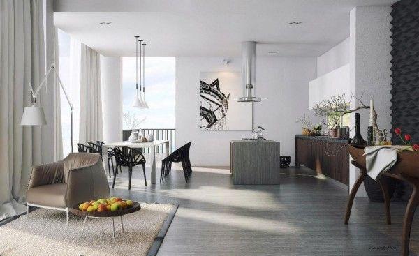 Stylish modern house embraces semi-minimalism with grace